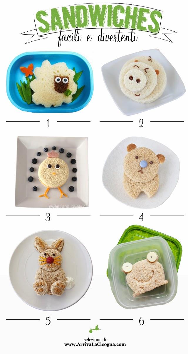 idee per merende creative per bimbi
