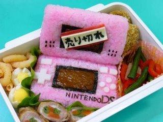 Nintendo Ds echa de comida
