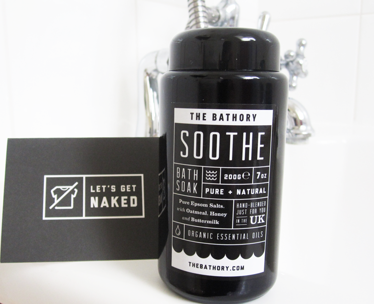 A picture of The Bathory Bespoke Personalised Bath Salts review