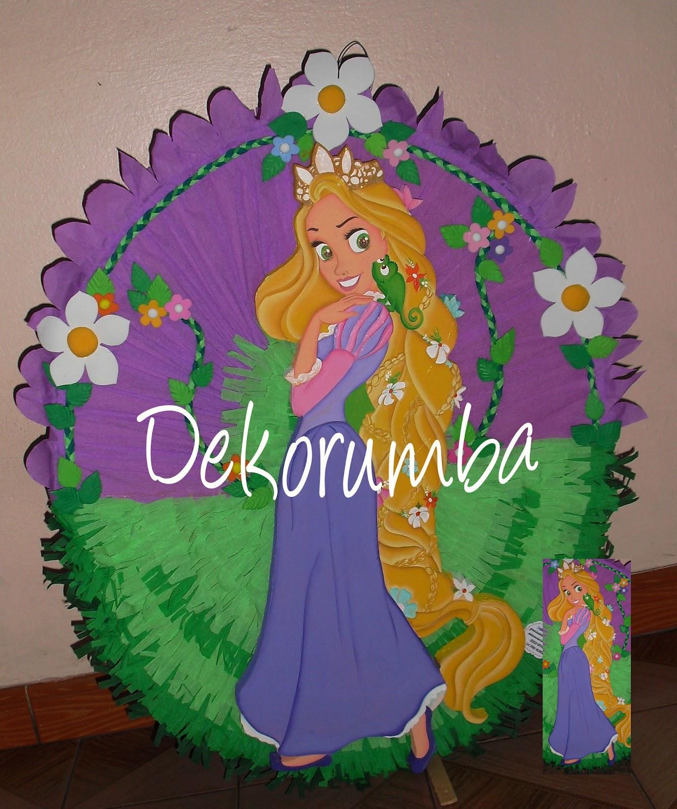 Pinata De Rapunzel