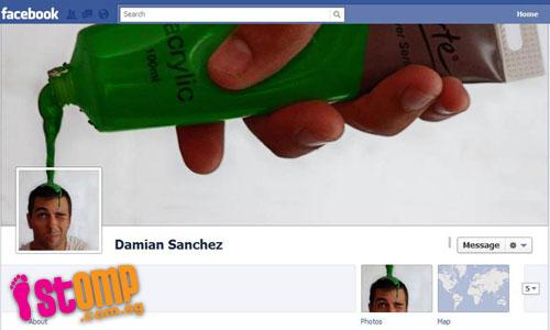 foto profil dan foto sampul yang unik mudah mudahan ada yang membuat