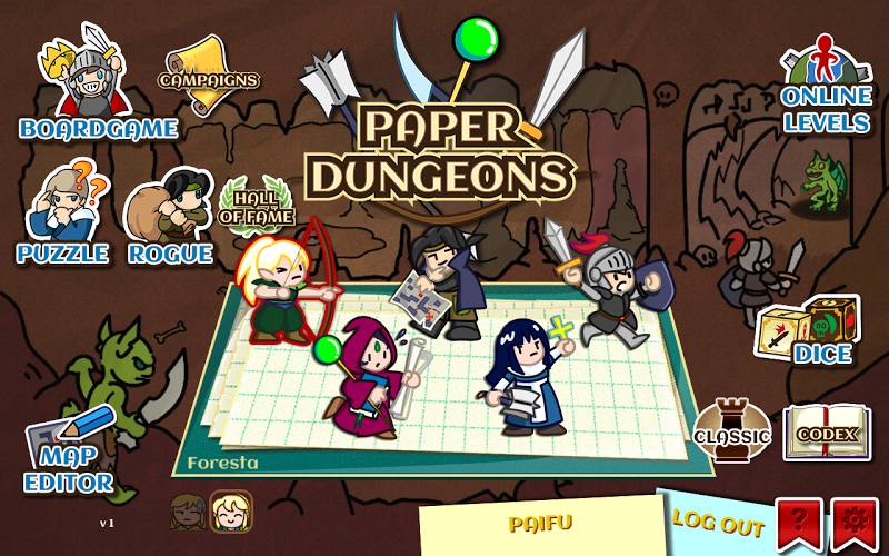 Paper Dungeons Gameplay Android