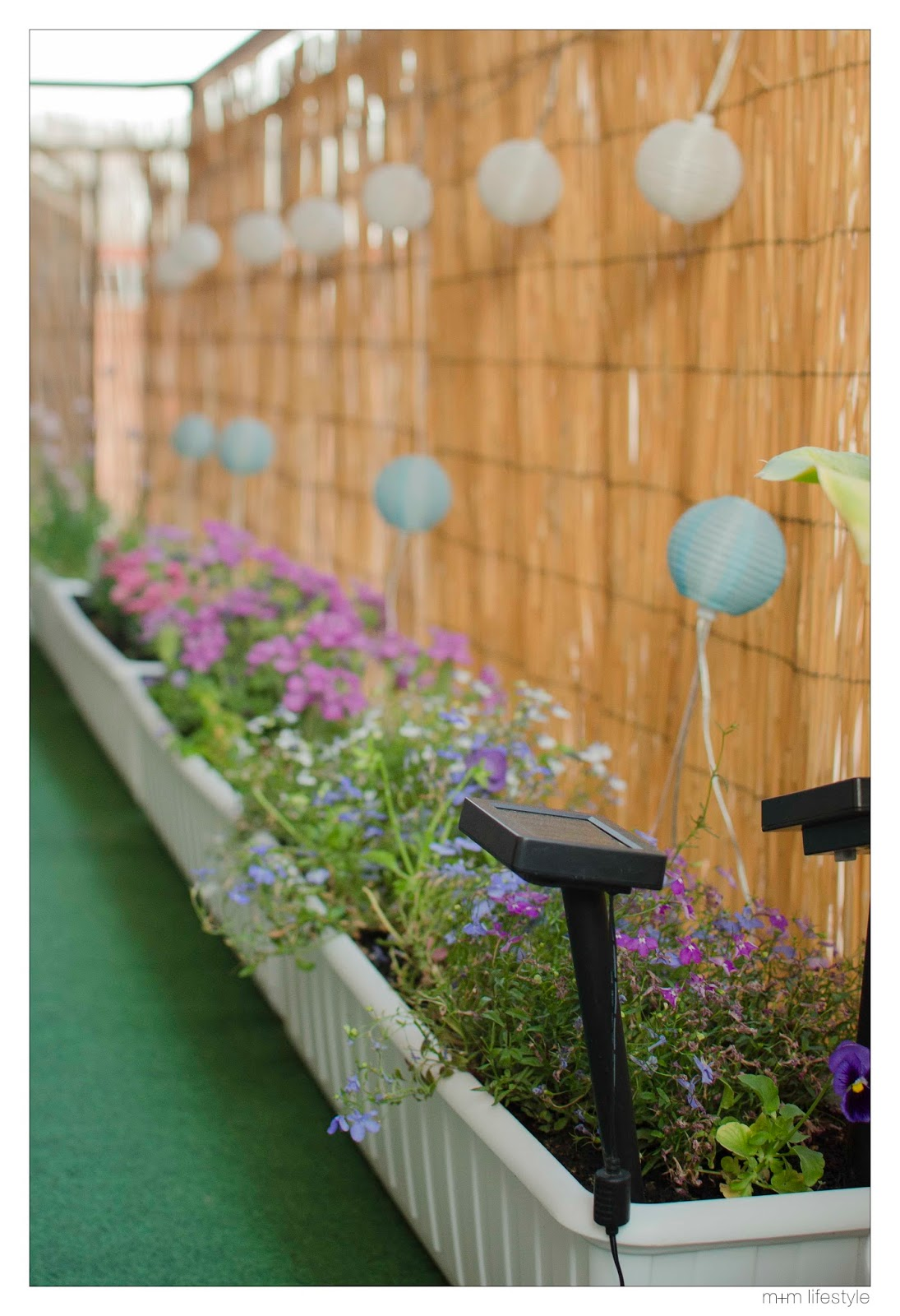 M m lifestyle ideas para decorar el balc n - Maceteros colgantes ikea ...
