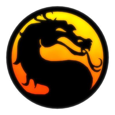 foto gambar logo mortal kombat