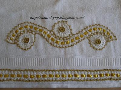 havlu dantel işleri