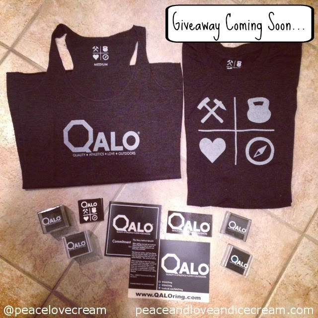QALO ring shirt, QALO ring giveaway. on the blog