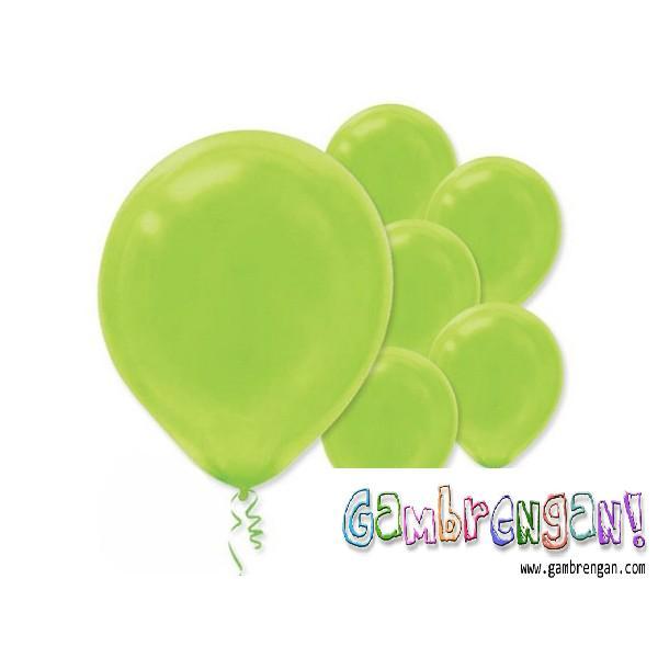 Balon Dekorasi Hijau Muda