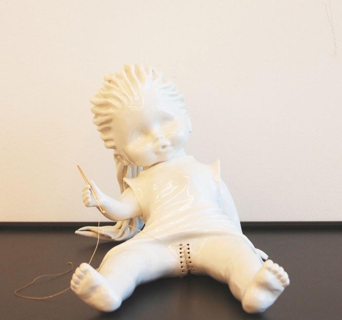 Trixies Treats Maria Rubinke - Amazingly disturbing porcelain figurines by maria rubinke