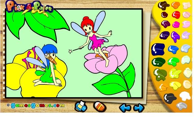เกมออนไลน์,เกมสำหรับเด็ก,เกมระบายสี,เกมใช้ความคิด สมอง