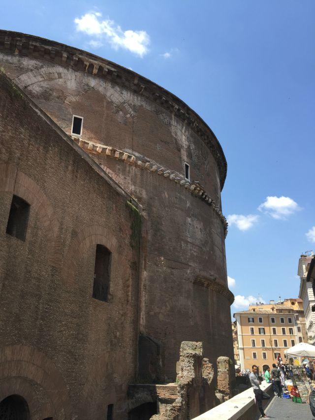 Rom - Italien - Pantheon . mit Kindern in Rom unterwegs