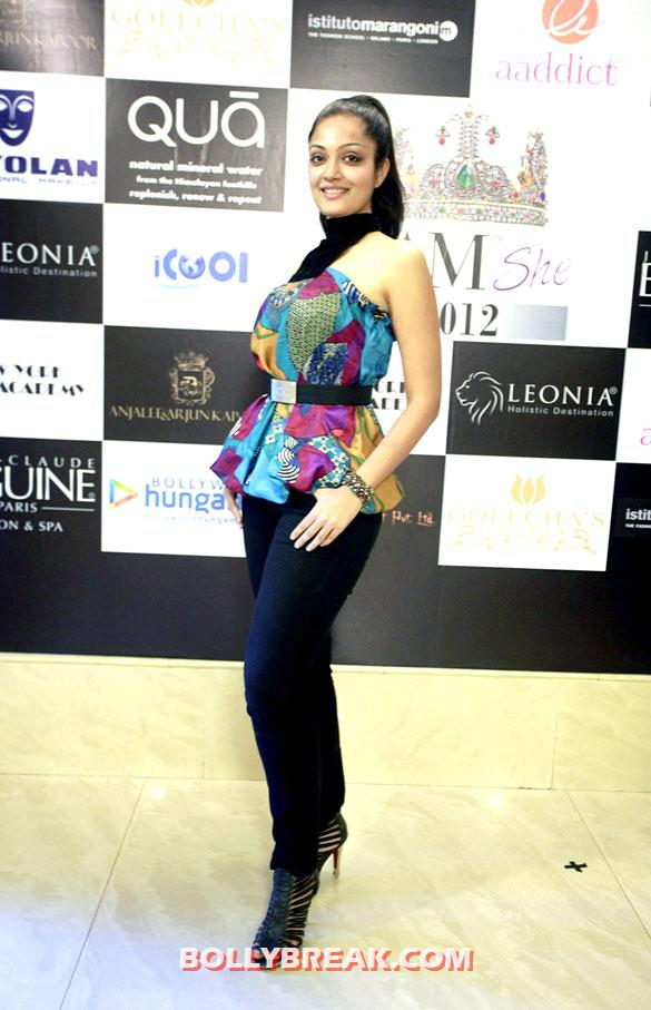 Sheena Chohan - Sheena Chohan at 'I AM She 2012' auditions with Dia Mirza,Sushmita Sen