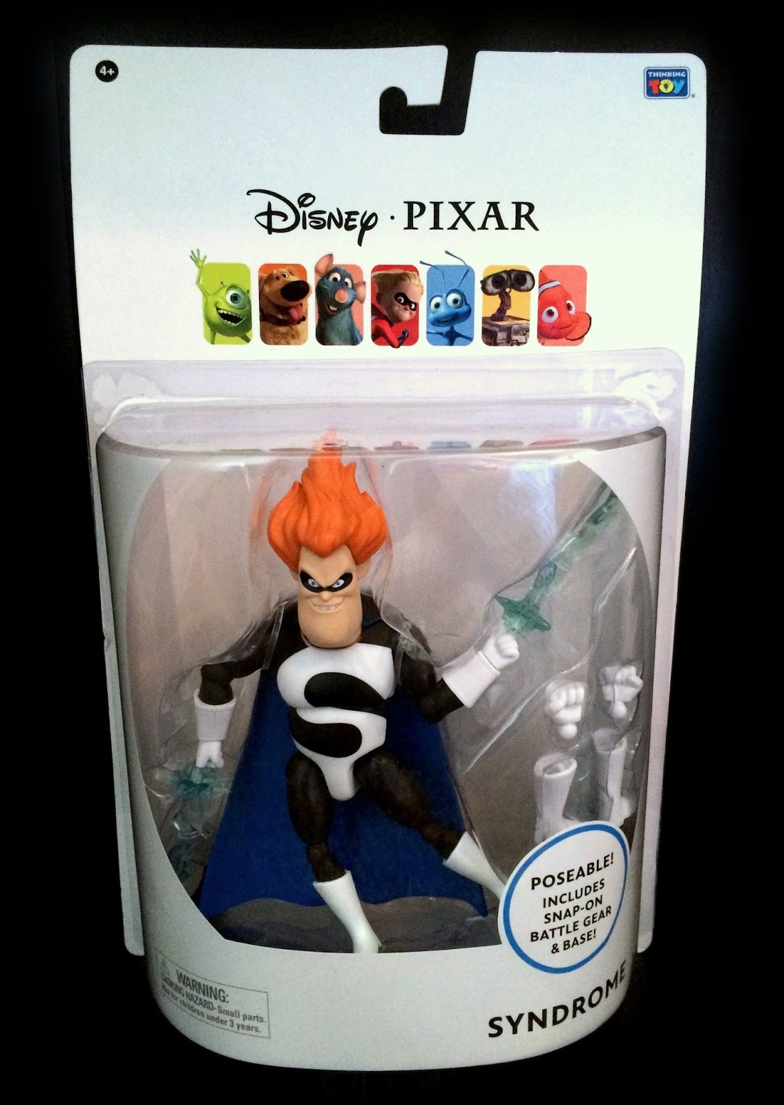 Thinkway toys the incredibles syndrome figure
