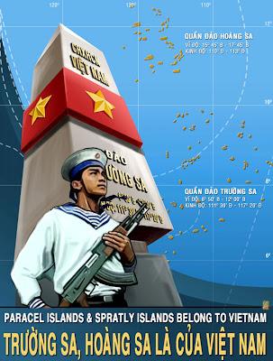 Trường Sa Hoàng Sa là của Việt Nam banner