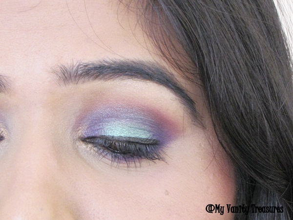Teal and Purple Smokey Eyes Tutorial