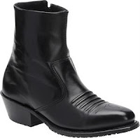 Mens Ankle Boots Zipper4