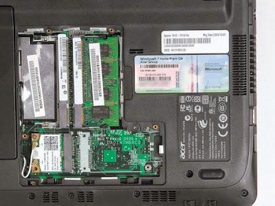 Upgrades Memory/RAM on Acer Laptops