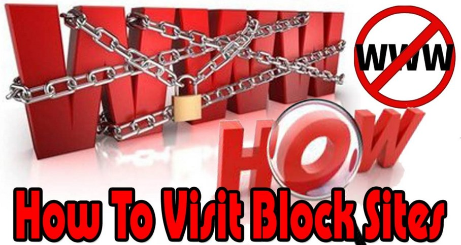 how to visit blocked sites at school