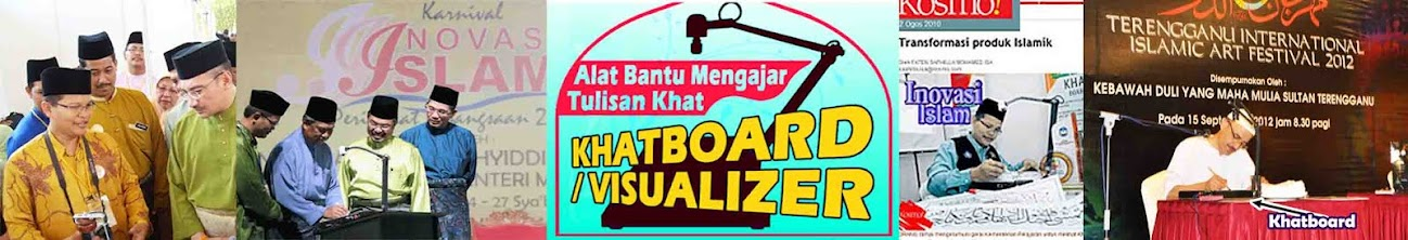 Khatboard - Alat Bantu Mengajar Tulisan Khat (Visualizer, Document Camera)