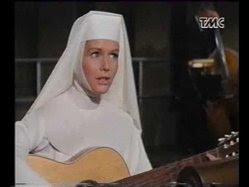 "Debbie Reynolds en ""Dominique"" monja"