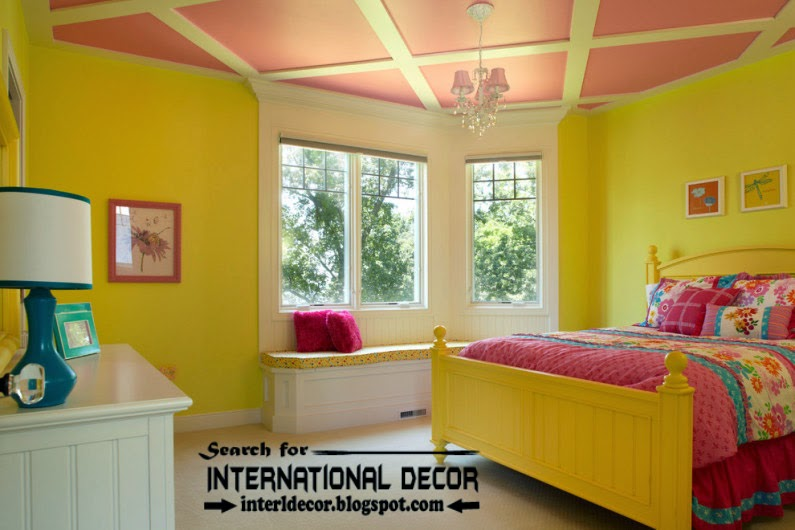 coffered ceiling designs paints for nursery, pink ceiling designs, nursery ceilings