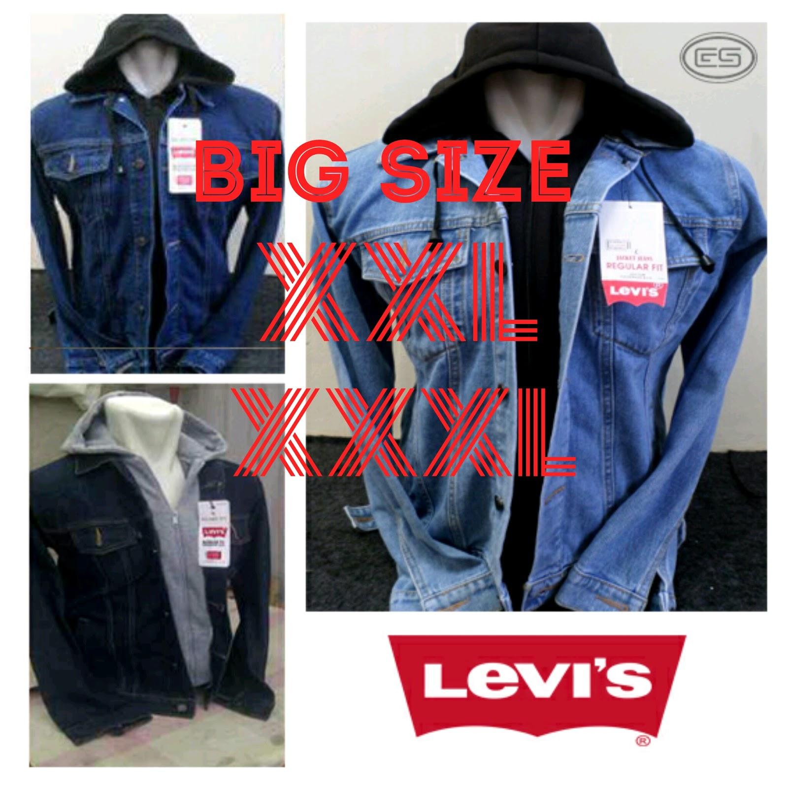 Jaket Jeans Levis Hoodie Big Size Xxl Xxxl Ariel Jual Baju Online Celana