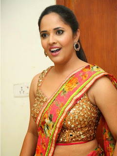 Anchor Anasuya Hot Stills at Cheekati Rajyam First Look Launch
