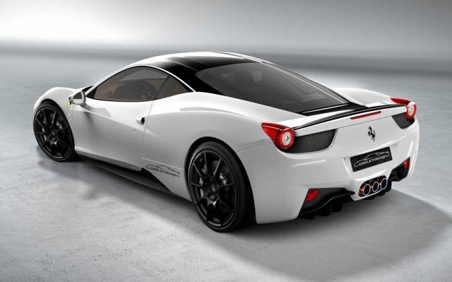 The ther Project: Ferrari 458