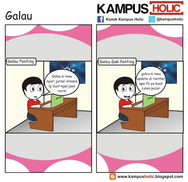 #223 Galau komik kampus holic