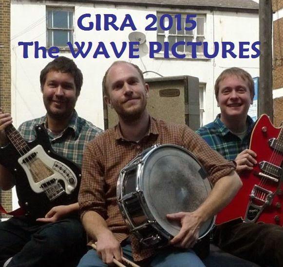 Gira española The Wave Pictures - Marzo 2015
