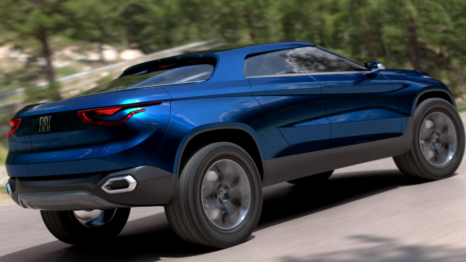 Nova picape média da Fiat - Stradão