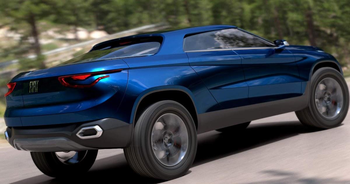 Pick-up média da Fiat terá tração dianteira e motor 2.4 Flex