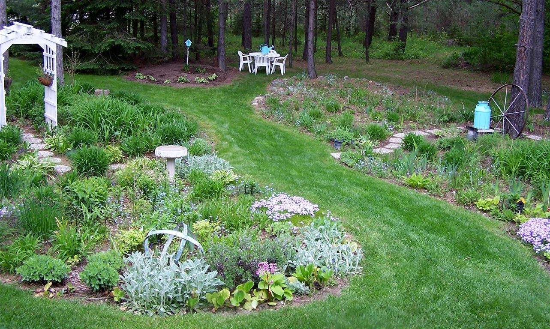 Grassless Landscaping