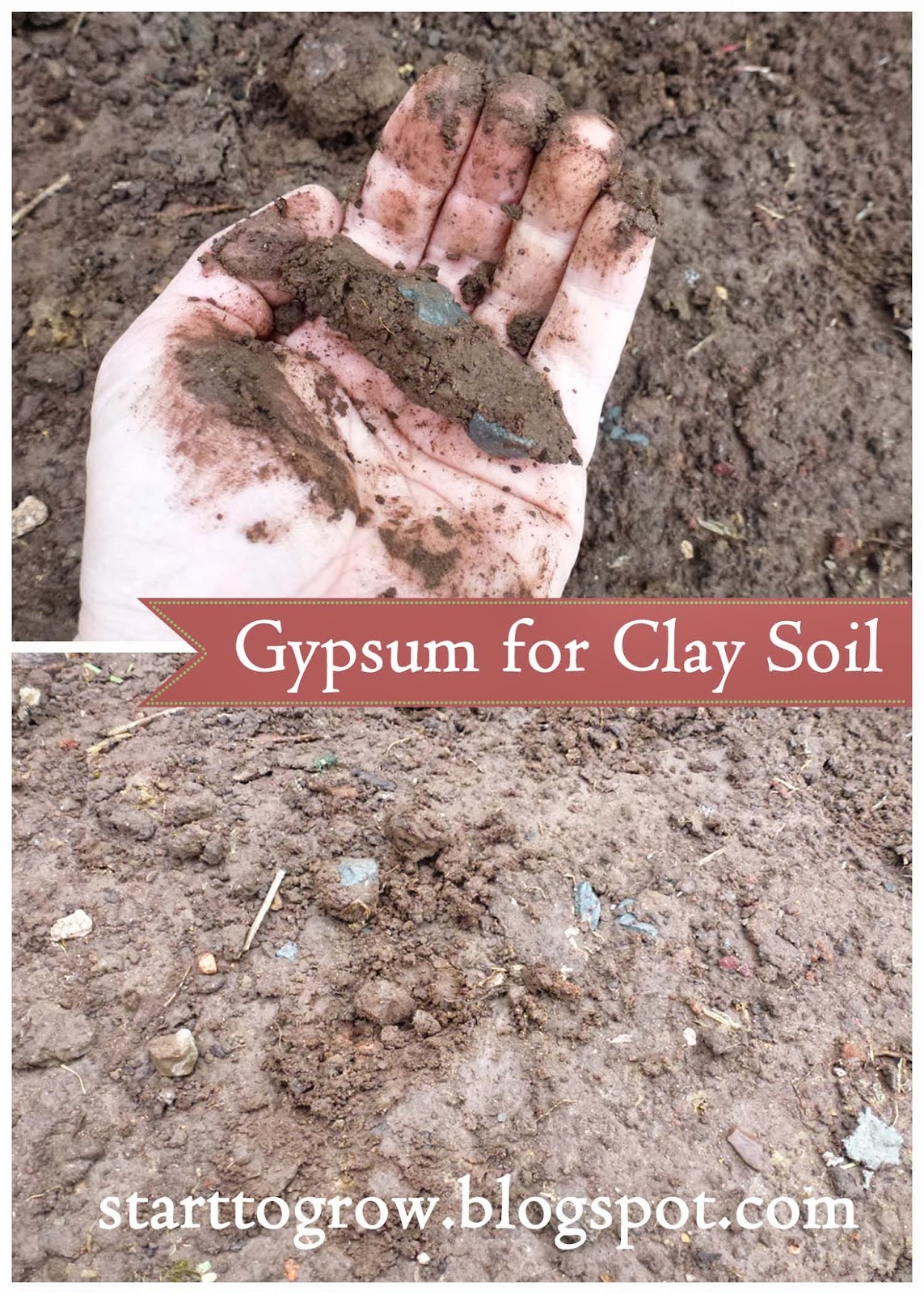 Soil With Gypsum Additives : Start to grow how add gypsum soil