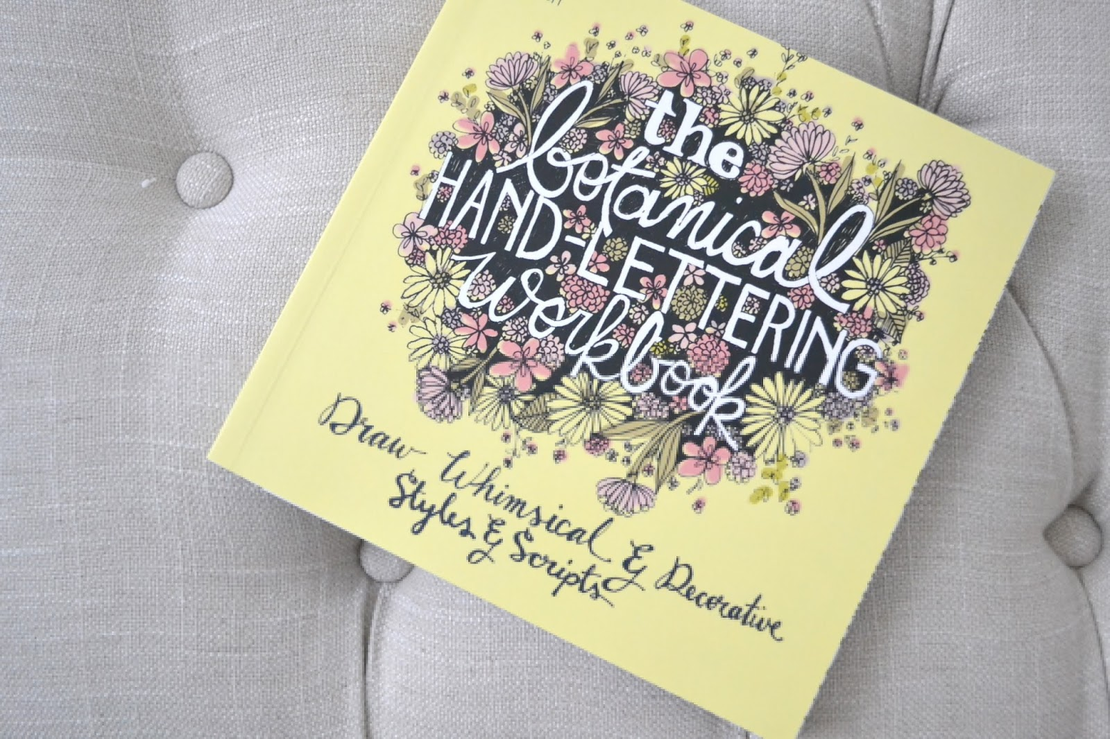 book review the botanical hand lettering workbook