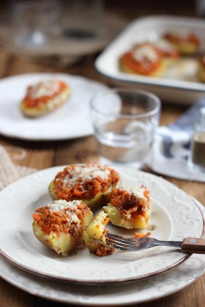 Patatas rellenas de carne picada cocinar en casa es for Cocinar patatas rellenas