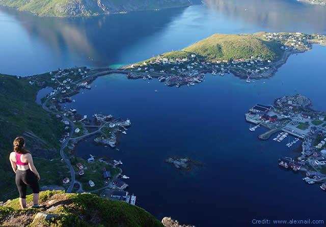 LOFOTEN ISLAND -  VESTVAGOY - NORWAY