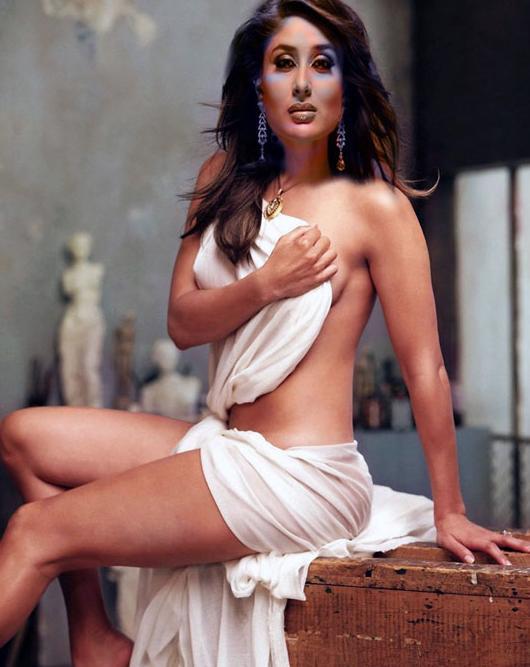 Kareena Kapoor without Dress