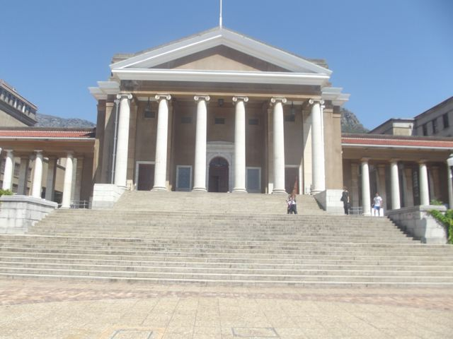 Jameson Hall, University of Cape Town.