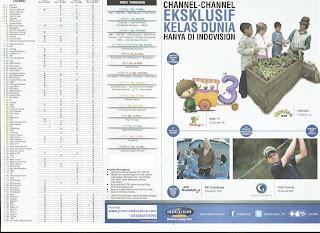 Daftar harga paket berlangganan tv kabel Indovision