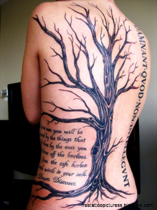 Tree Tattoo   Dr Odd
