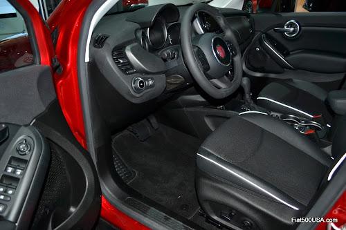 Fiat 500X Driver Seat