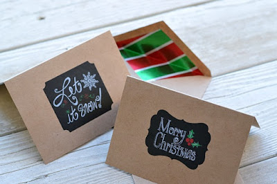 Blank Holiday card set for sale