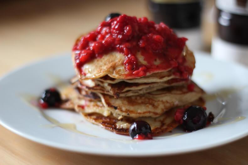 Healthy Gluten Free Pancakes Recipe
