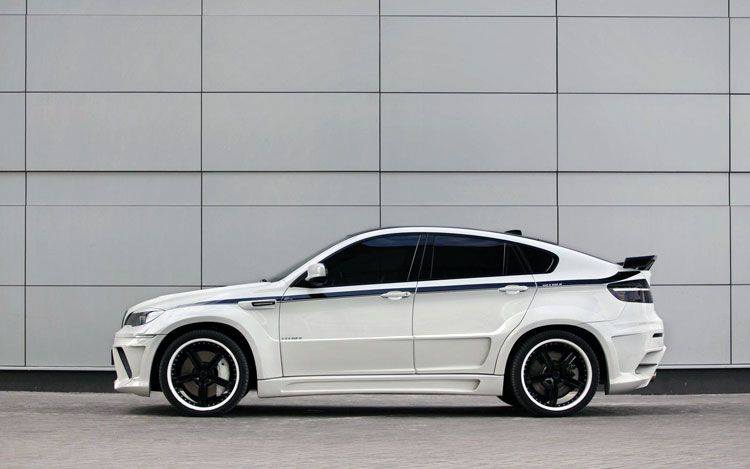 White Bmw X6 Modified Automotive Car Center