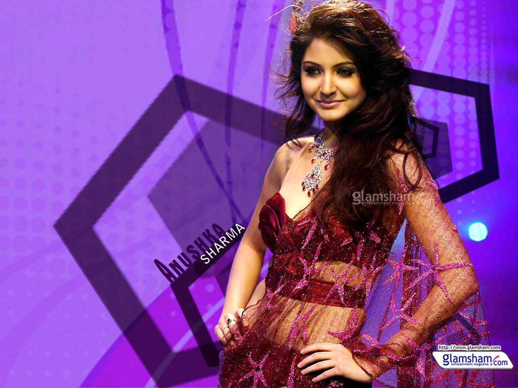 Anushka Sharma as Desktop Wallpaper