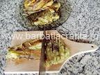 Salata de vinete preparare reteta - tocam marunt vinetele