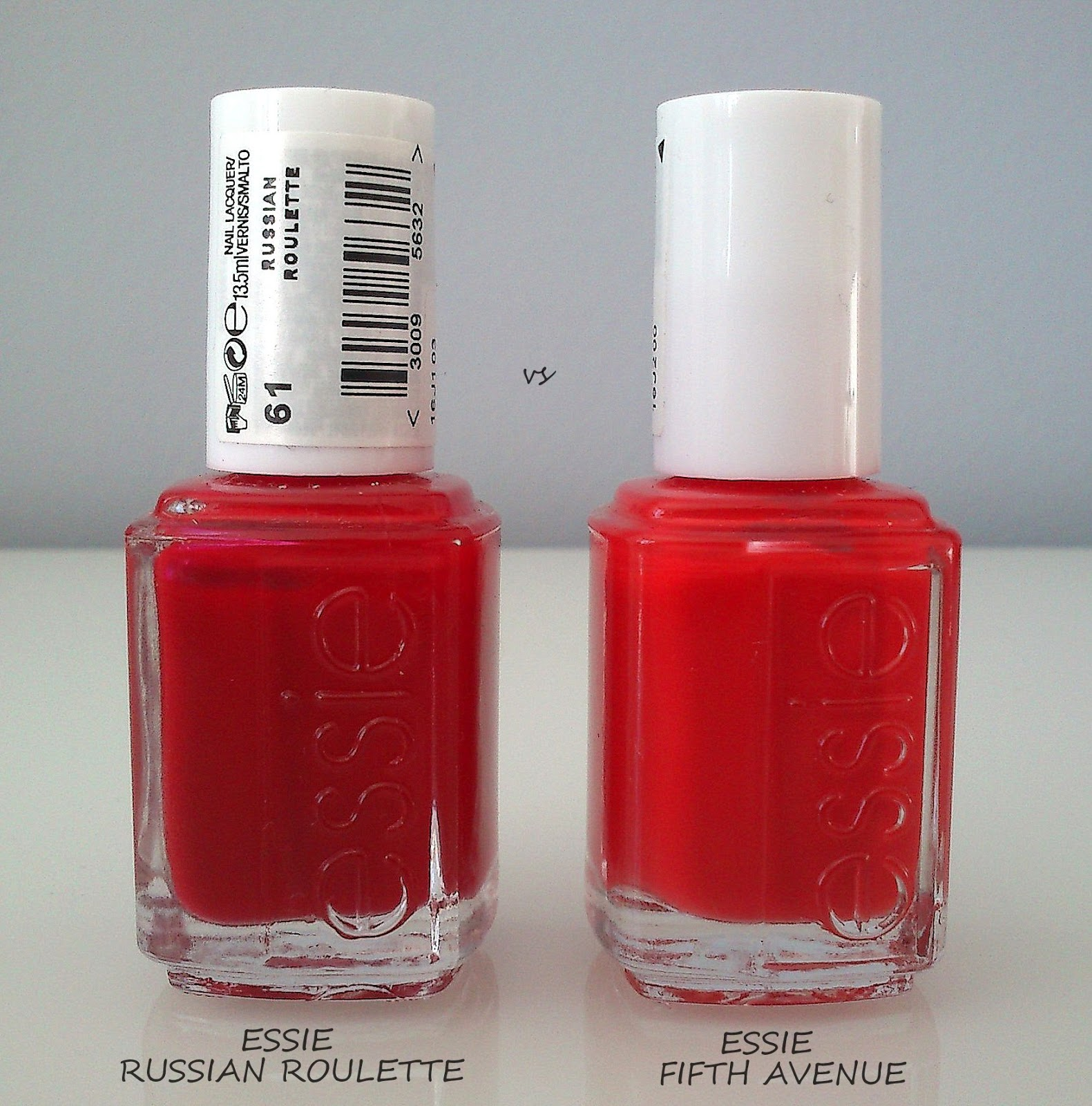 Essie russian roulette vs opi big apple red casinos en miami fl