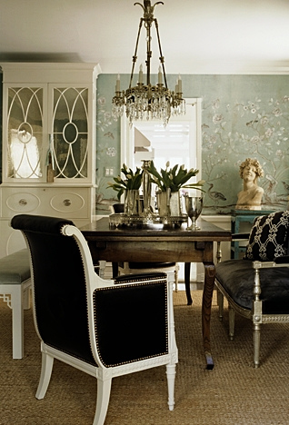 High street market regency inspired dining room for Regency dining room