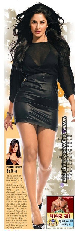 Katrina Kaif Walking Wallpaper1 - Katrina Kaif super hot Walking Wallpaer in Black short Dress