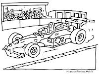 Menonton Kejuaraan Mobil Balap